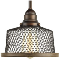 Tilley 1 Light 8 inch Antique Bronze Mini Pendant Ceiling Light