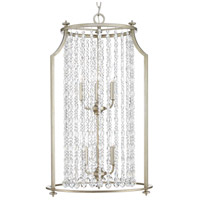Progress P500086-134 Desiree 6 Light 18 inch Silver Ridge Pendant Ceiling Light Design Series