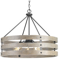 Gulliver 5 Light 28 inch Graphite Pendant Ceiling Light