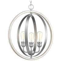 Conestee 3 Light 21 inch Galvanized Pendant Ceiling Light