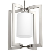 Celeste 1 Light 10 inch Polished Nickel Mini Pendant Ceiling Light, Design Series