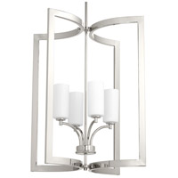 Celeste 4 Light 15 inch Polished Nickel Pendant Ceiling Light, Design Series
