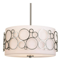 Bingo 3 Light 18 inch Brushed Nickel Pendant Ceiling Light