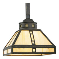 Progress Lighting Arts and Crafts 1 Light Mini-Pendant in Weathered Bronze P5020-46
