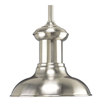 Progress Brookside 1 Light Mini-Pendant in Brushed Nickel P5023-0930K9