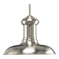 Brookside LED 12 inch Brushed Nickel Pendant Ceiling Light