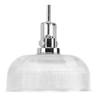 Archie 1 Light 11 inch Chrome Pendant Ceiling Light