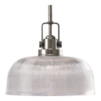 Progress Lighting Archie 1 Light Pendant in Antique Nickel P5026-81