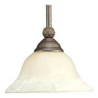 Progress P5040-86 Savannah 1 Light 9 inch Burnished Chestnut Mini-Pendant Ceiling Light alternative photo thumbnail