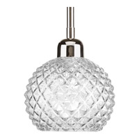 Progress Entice 1 Light Mini-Pendant in Polished Nickel P5041-104