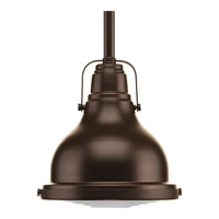 Progress Fresnel Lens 1 Light Mini-Pendant in Oil Rubbed Bronze P5050-108