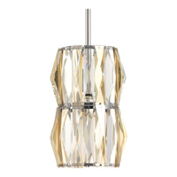 The Pointe 1 Light 6 inch Polished Chrome Mini-Pendant Ceiling Light