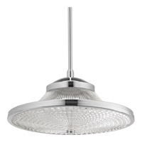 Signature LED 15 inch Polished Chrome Pendant Ceiling Light