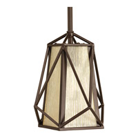Marque 1 Light 8 inch Antique Bronze Mini-Pendant Ceiling Light