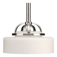 Progress Lighting Torque 1 Light Mini-Pendant in Brushed Nickel P5081-09WB