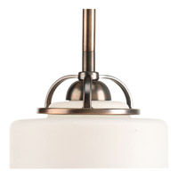 Progress Lighting Torque 1 Light Mini-Pendant in Copper Bronze P5081-124WB