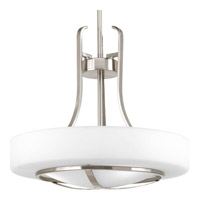 Progress Lighting Torque 3 Light Pendant in Brushed Nickel P5085-09