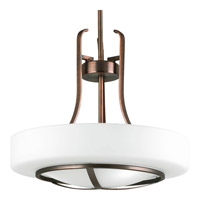 Progress Lighting Torque 3 Light Pendant in Copper Bronze P5085-124