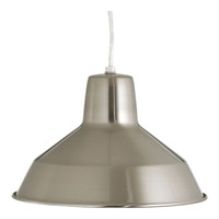 Progress Signature 1 Light Pendant in Brushed Nickel P5087-0930K9