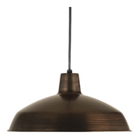 Progress Signature 1 Light Pendant in Venetian Bronze P5094-7430K9