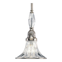Progress Lighting Thomasville Roxbury 1 Light Mini-Pendant in Classic Silver P5100-101