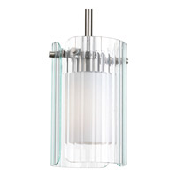 Progress Lighting Coupe 1 Light Mini-Pendant in Brushed Nickel P5102-09WB