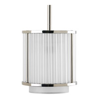 Progress Lighting Thomasville Nisse 1 Light Mini-Pendant in Polished Nickel P5105-104