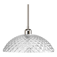 Progress Entice 1 Light Pendant in Polished Nickel P5115-104