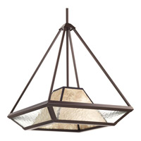 Progress P5115-20 Collins 1 Light 17 inch Antique Bronze Pendant Ceiling Light in Polished Nickel