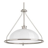 Lucky 1 Light 16 inch Brushed Nickel Pendant Ceiling Light