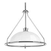 Progress P5119-15 Lucky 1 Light 16 inch Polished Chrome Pendant Ceiling Light