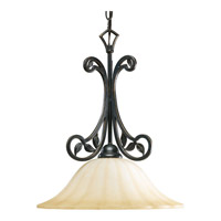 Le Jardin 1 Light 16 inch Espresso Pendant Ceiling Light