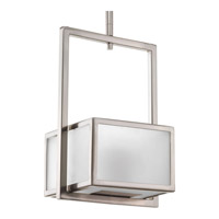 Progress Haven 1 Light Mini-Pendant in Brushed Nickel P5134-09EBWB
