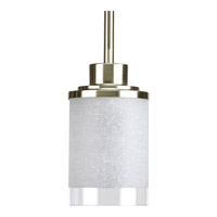 Alexa 1 Light 4 inch Brushed Nickel Mini-Pendant Ceiling Light