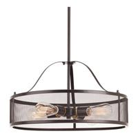 Progress P5150-20 Swing 4 Light 20 inch Antique Bronze Pendant Ceiling Light