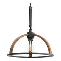Progress Lighting Trestle 1 Light Pendant in Gilded Iron P5152-71