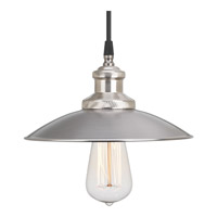 Progress Archives 1 Light Mini-Pendant in Antique Nickel P5161-81
