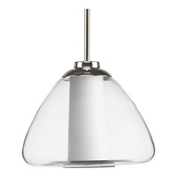 Progress Lighting Modera 1 Light Pendant in Polished Nickel P5174-104