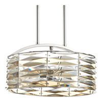 The Pointe 5 Light 14 inch Polished Chrome Pendant Ceiling Light