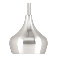 Kiss LED 5 inch Brushed Nickel Mini-Pendant Ceiling Light