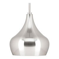 Kiss LED 10 inch Brushed Nickel Mini-Pendant Ceiling Light