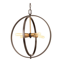 Swing 4 Light 20 inch Antique Bronze Pendant Ceiling Light