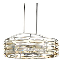 The Pointe 6 Light 19 inch Polished Chrome Chandelier Ceiling Light