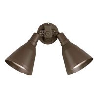 Progress Lighting PAR Lampholder 2 Light Landscape in Antique Bronze P5203-20