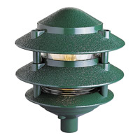 Progress P5204-38 Pagoda Low Volt 100 watt Green Landscape