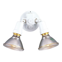 Progress Lighting PAR Lampholder 2 Light Landscape in White P5207-30