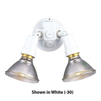 Progress Lighting PAR Lampholder 2 Light Landscape in Black P5207-31