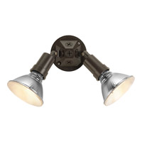 Progress Lighting PAR Lampholder 2 Light Landscape in Antique Bronze P5212-20