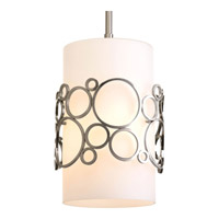 Progress Lighting Bingo 1 Light Mini-Pendant in Brushed Nickel P5314-09