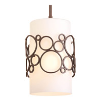 Progress Lighting Bingo 1 Light Mini-Pendant in Venetian Bronze P5314-74
